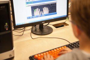 Kids typing tutor