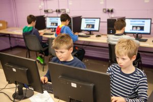 Touch typing class