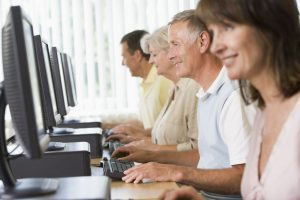 Adult typing classes