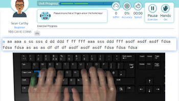 Hunt and Peck typing method versus touch-typing. Which method is preferred when learning how to type?